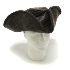 trifold pirate hat