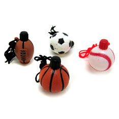 sports ball necklace