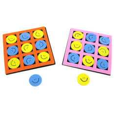 smiley face tic tac toe